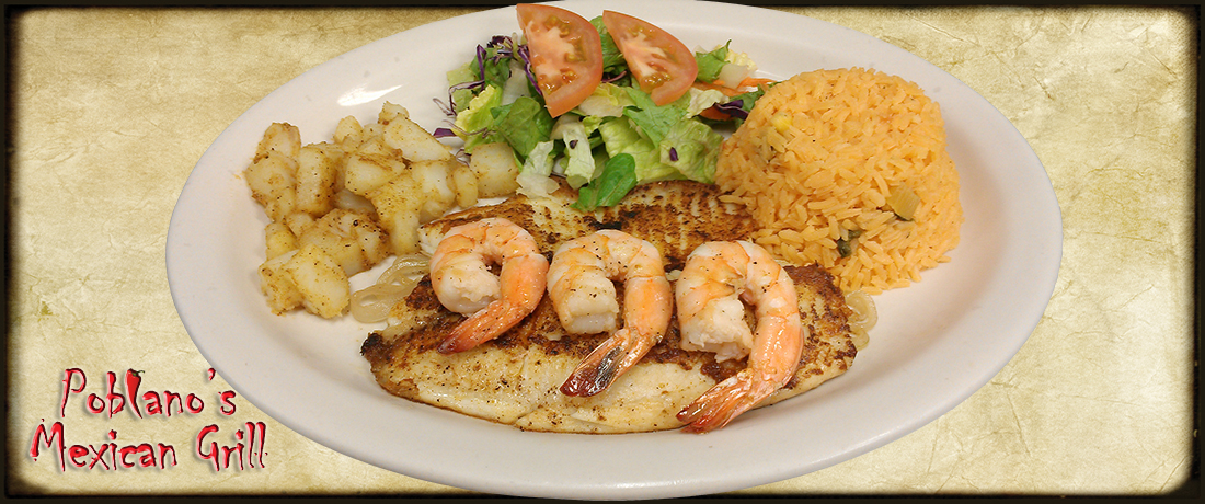 Grilled Tilapia and Shrimp